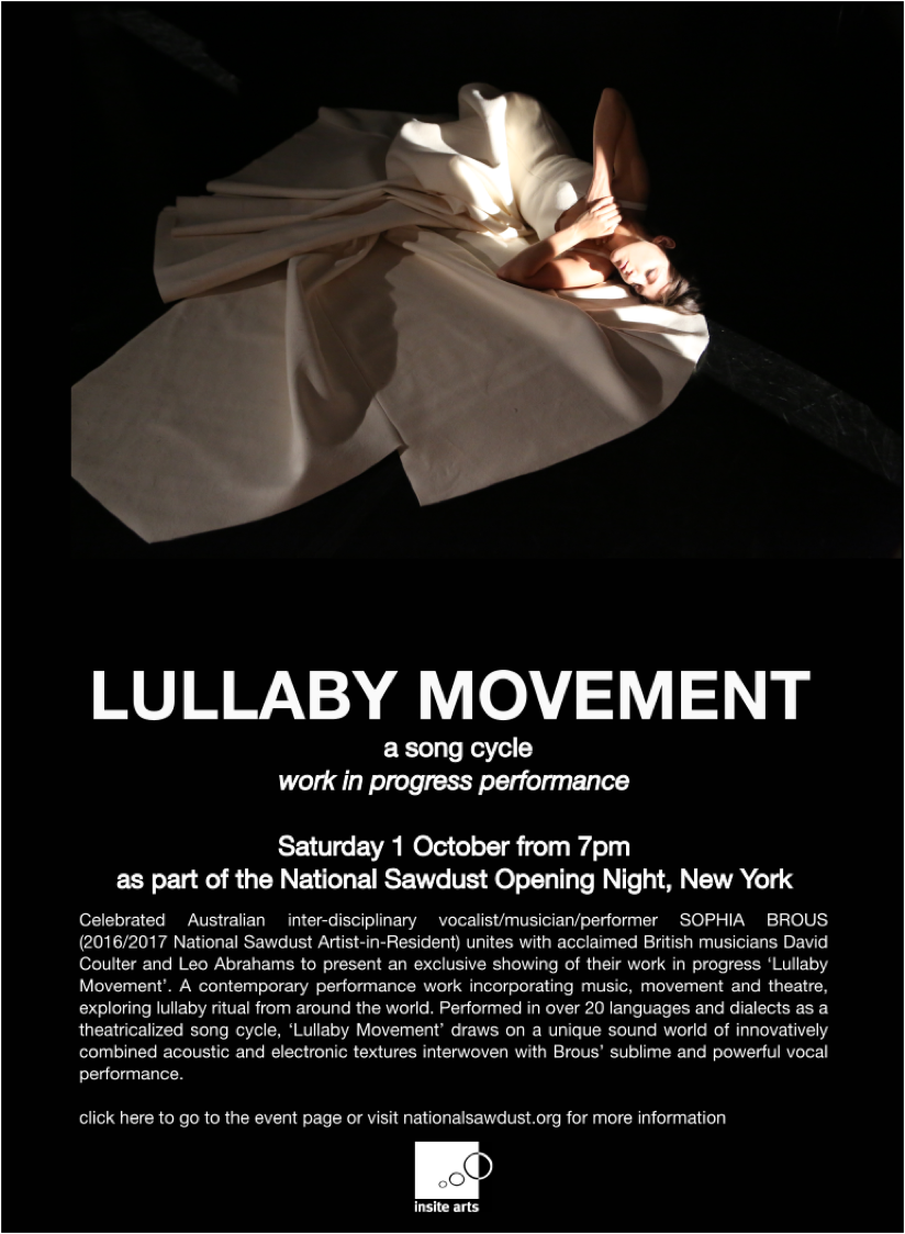 Lullaby Movement flyer